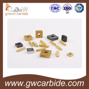 Tungsten Carbide Indexable Inserts with CVD PVD Coating pictures & photos