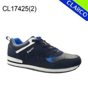 New Collection Men Sports Sneaker Shoes with TPR Sole pictures & photos