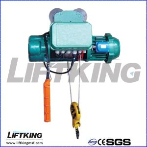 Single Speed Wire Rope Hoist Without Trolley pictures & photos