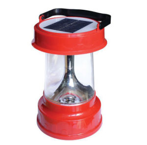 Portable Solar LED Rechargeable Camping Lantern Light with Multifunctions pictures & photos