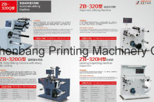 Rotary Die Cutting and Slitting Machine Zb-320/420 pictures & photos