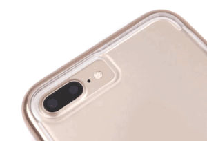 Gold-Plating TPU Soft D30 Hard Ultra Thin Impact Mesh Cases Protective Tech 21 Case for iPhone 7 Plus 6s Se pictures & photos
