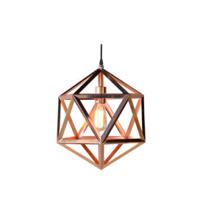 Triangle Shape Home Restaurant Fixtures Lighting, Rose Gold Design Lamps Oz-Al643 pictures & photos