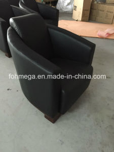 New Design Single Lounge Sofa with Cusgion (FOH-LC05) pictures & photos