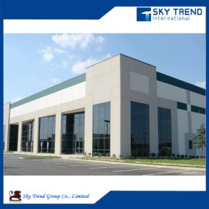 Large Span Prefabricated Steel Structures House Industrial Steel Buildings with Insulation Panel pictures & photos