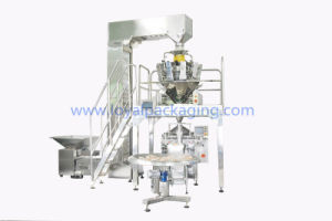 Combination Multihead Weigher for Form Fill Seal Almonds Packing Machine pictures & photos