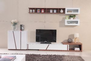 MDF Furniture Modern Chinese TV Stand (DS-2015) pictures & photos