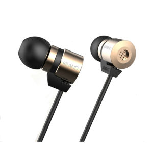 Gold Plated Housing Double Magnets Drivers Noise Isolating HD HiFi Earphone Headphones High Sensitivity pictures & photos