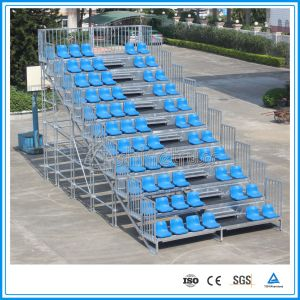 Aluminum Portable Bleachers Stadium Seats Movable Bleachers pictures & photos