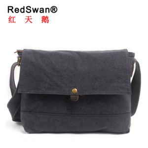 Redswans Multifunctional Versatile Boy Girl Satchel Laptop Bag Crossbody Canvas Leisure Shoulder Working Bag (RS-6003) pictures & photos