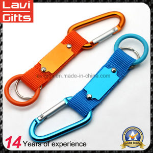High quality Carabiner Hook Lanyard Strap Keychain pictures & photos