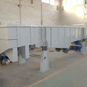 Carbon Steel Linear Vibrating Screen with Double Motor Drive pictures & photos