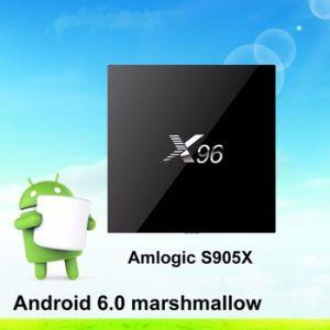 2016 New Amlogic X96 S905X M18 Kodi Xbmc Kodi TV Box pictures & photos