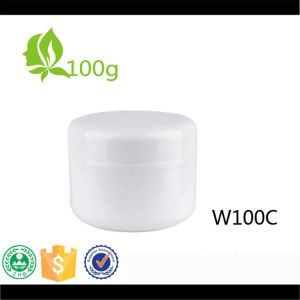 100g Single Wall PP Cream Jar with Inner Lid pictures & photos