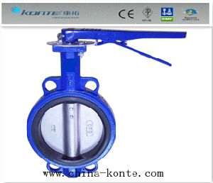 Wafer Type Manual Butterfly Valve (wbt-01) pictures & photos