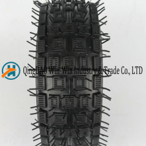 Wear-Resistant Rubber Wheel for Beach Wheel (3.00-4) pictures & photos