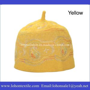 100% Wool Material Muslim Hat for Man and Woman Arabic Hat Cap pictures & photos