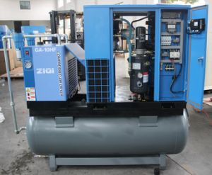 11kw 8 Bar Air Compressor with Tank pictures & photos