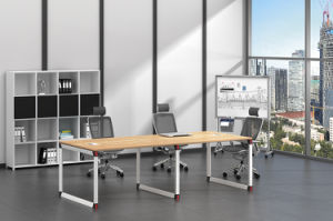 White Customized Metal Steel Office Conference Table Frame with Ht96-3 pictures & photos