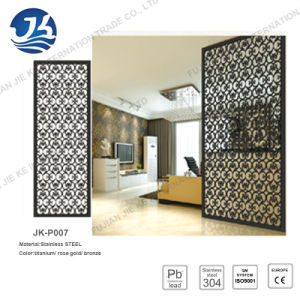 Stainless Steel Room Divider and Folding Metal Screen for Decorative Partition Wall pictures & photos