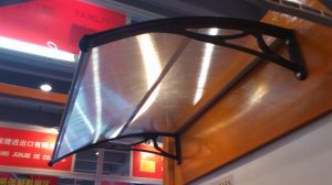 Brazil Door Canopy with Polycarbonate Sheet and Plastic Bracket pictures & photos