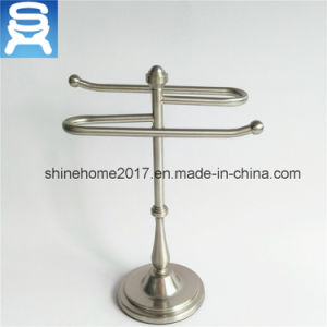 Satin Nikel Electroplated Home and Bath Paper Towel Bar and Holder pictures & photos