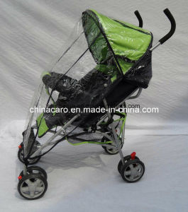 Steel Frame Simple Baby Buggy with Rain Coat (CA-BB262) pictures & photos