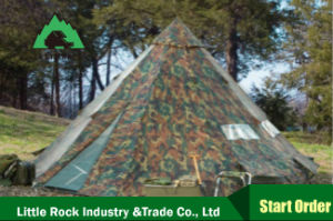 2017 Hot Selling Large Camping Teepee Bell Tent Umbrella Tent pictures & photos