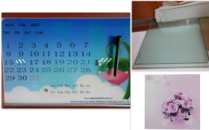 Magnetic Glass Calendar Whiteboard with En71/72/73 pictures & photos