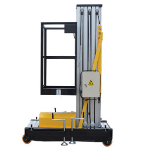 8m Warehouse Maintenance Equipment Movable Aluminum Alloy Lift pictures & photos