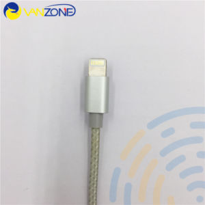 Hot Sell Nylon Braided Mfi Certificate for iPhone Cable 6 Cable pictures & photos