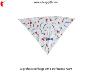 Customized Printed Triangle Pet Bandana (YH-HS139) pictures & photos