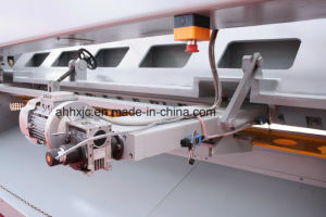 QC12k Nc Hydraulic Shearing Machine for Metal Making pictures & photos