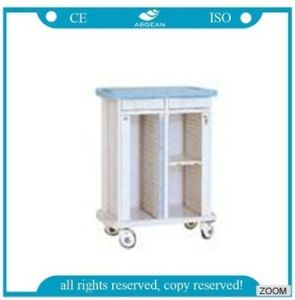 AG-Cht007 Hot Sale Stainless Steel Trolley for Medical Record Holder pictures & photos