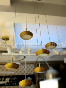 Modern Home Decor Copper Bowl UFO Lighting Design 5W Epistar LED Indoor Lighting pictures & photos