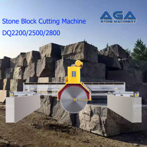 Multi-Blades Stone Block Cutting Machine with Granite/Marble Cutter (DQ2200/2500/2800) pictures & photos