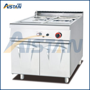 Gh984 Gas Bain Marie Cooker with Cabinet of Catering Equipment pictures & photos