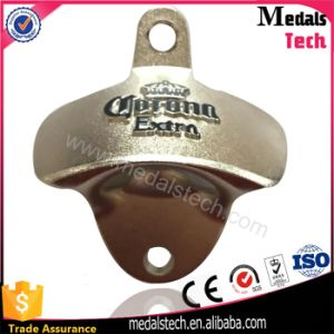 Zinc Alloy Die Casting 3D Logo Wall Bottle Opener with Screws pictures & photos