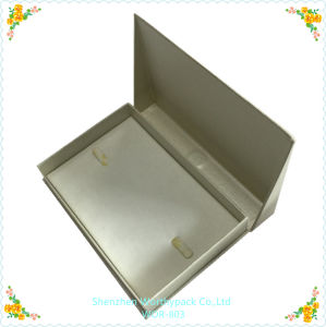 Folding Styled Jewelry Gift Box with Elegent Inner Tray pictures & photos