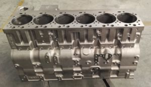 Qsl 9 Cylinder Block for Cummins Engine pictures & photos