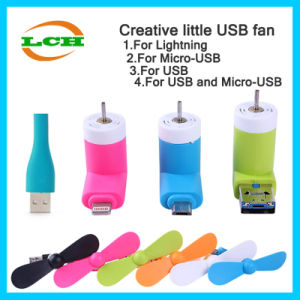 Hotselling Mini USB Fan for Android Ios Phone and Powerbank pictures & photos