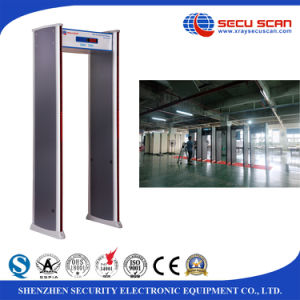 Bank use Walk Through Metal Detector AT-IIID 18/12/6 zones security body scanner pictures & photos