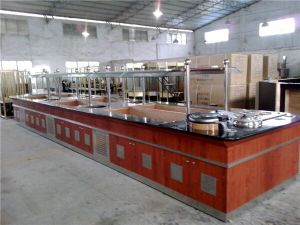 New Type Stainless Steel Marble Salad Bar for Buffet pictures & photos