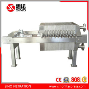 Small Size Stainless Steel Manual Plate and Frame Filter Press pictures & photos