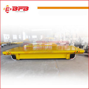Aluminium Coil Use Electric Handling Cart for Heavy Industry on Rails pictures & photos