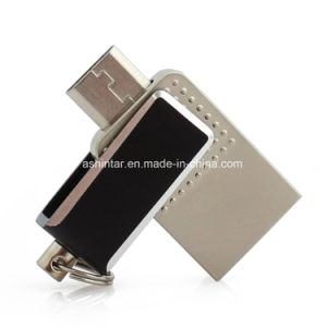 128g Swivel Mini USB Disk OTG Phone USB Flash Drive pictures & photos