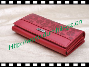 PU Clutch Ladies Metal Frame Wallet pictures & photos