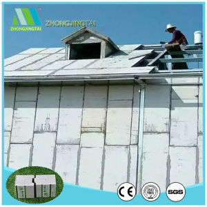 Fireproof Exterior Insulated Cement EPS Sandwich Partitional Wall Panel pictures & photos