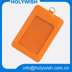 PU Badge Card Holder for Meeting/Promotion/Event/Fair pictures & photos