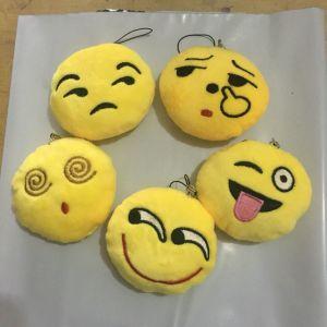 Plush Customized Emoji Keychain Toy pictures & photos